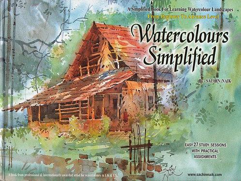 Watercolours Simplified Art Book