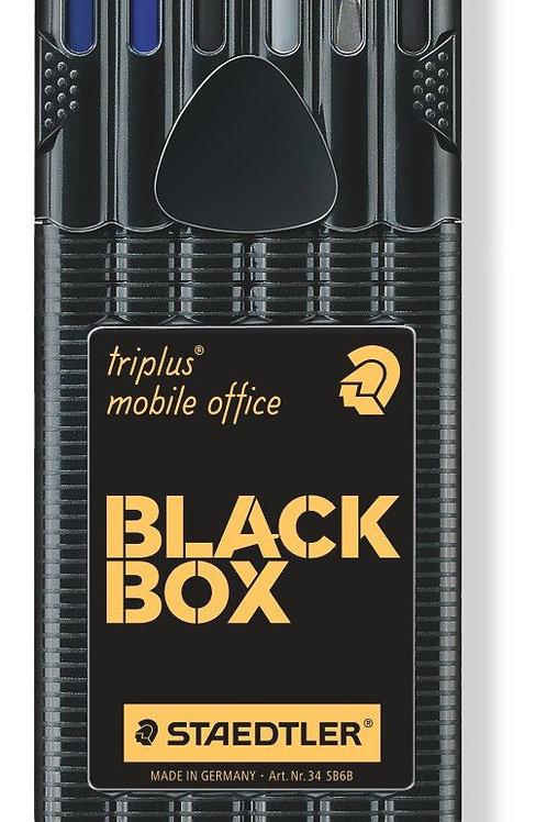 Staedtler Triplus Mobile Office In Black Box - Pack of 6