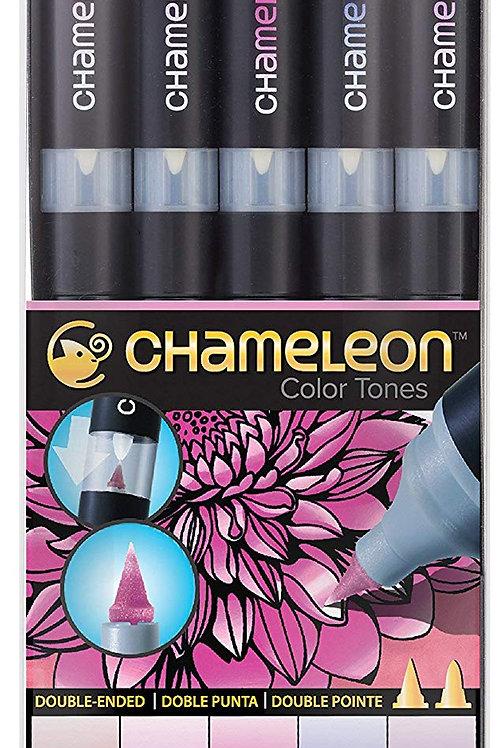 Chameleon 5 Pen Floral Tones Set