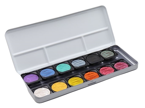 Fine Tec F1200Pearlescent Colours Set -Set of 12