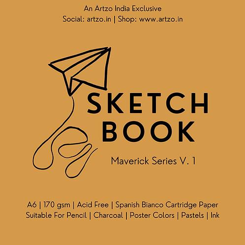 Artloop Maverick Sketch book - Size A6