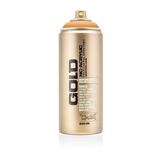 Montana Gold Spray Paint 400ml Blast Orange G2030