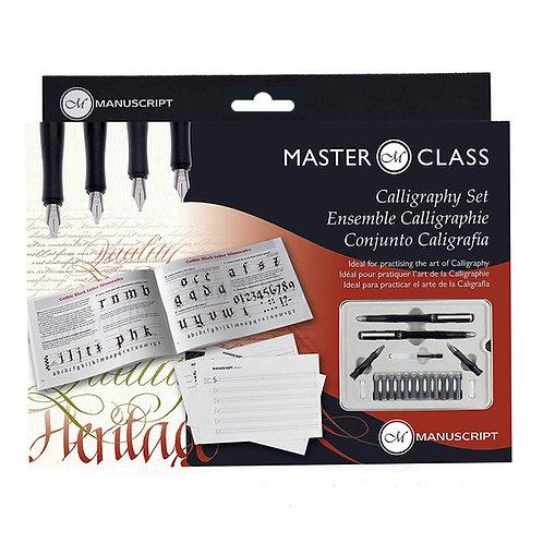 Manuscript Pen MC160 - Masterclass Calligraphy Set