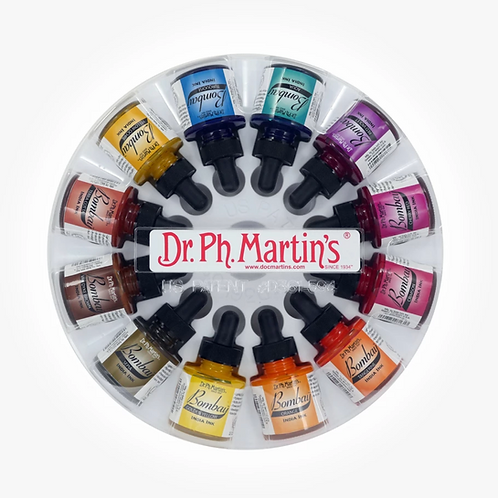 Dr. Ph. Martin's Bombay Ink 30ml Set of 12 - Set 2
