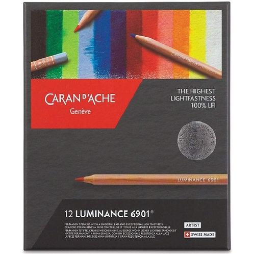 Caran Dache Artist Luminance Pencil - Set of 12