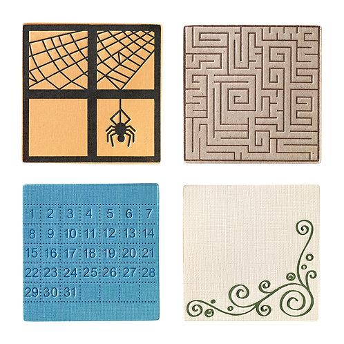 Fiskars Medium Design Plate - Expansion Pack - Square