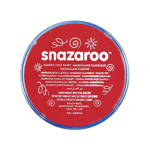Snazaroo Classic Face Paint 18ml - Bright Red