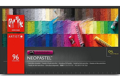 Caran Dache Neopastel Artist Oil Pastels - Set of 96