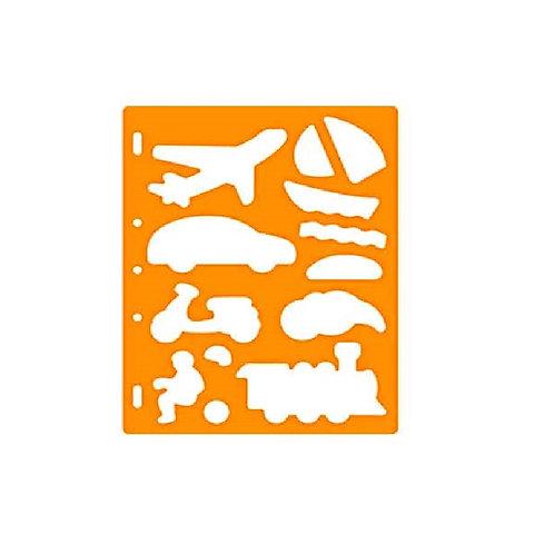 Fiskars Shape Template - Locomotion
