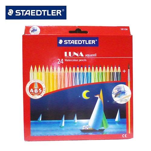 Staedtler Luna Classic Water Colour Pencils - Set of 24 Colours