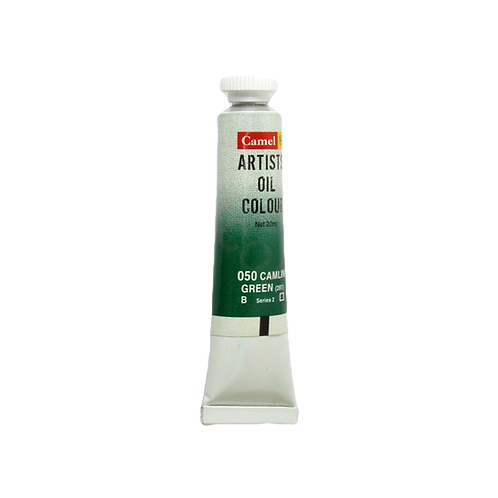 Camlin Kokuyo Artists Oil Colours 20ml - Camlin Green
