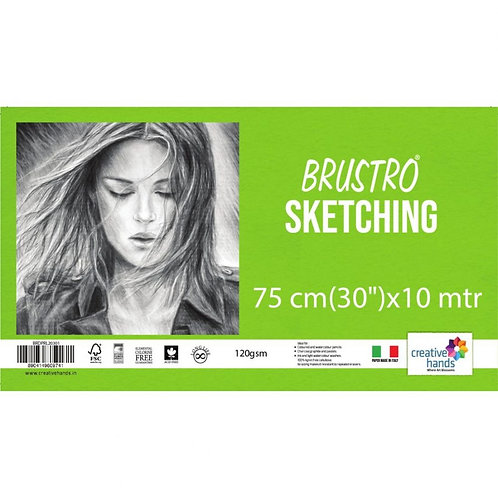 Brustro Artist Drawing Paper Roll