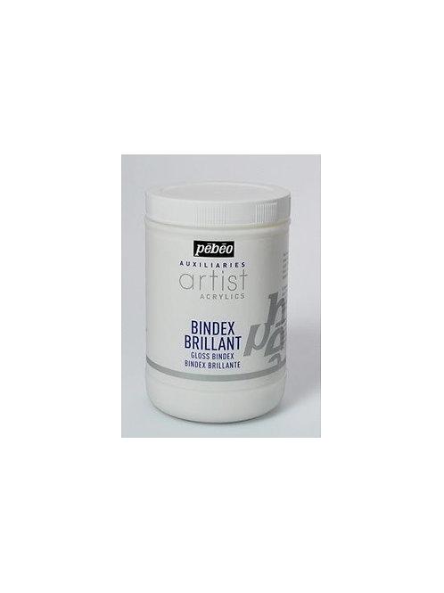 Pebeo Extra Fine Artist Acrylics Auxiliaries - Gloss Bindex - 1000ml Tub
