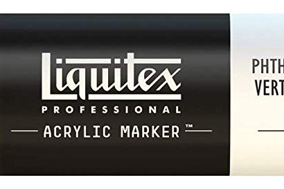 Liquitex 317 Acrylic Paint Marker 15mm Wide - Phthalocyanine Green Blue Shade