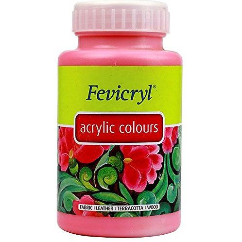 Fevicryl Acrylic Colour 500ml - Pink