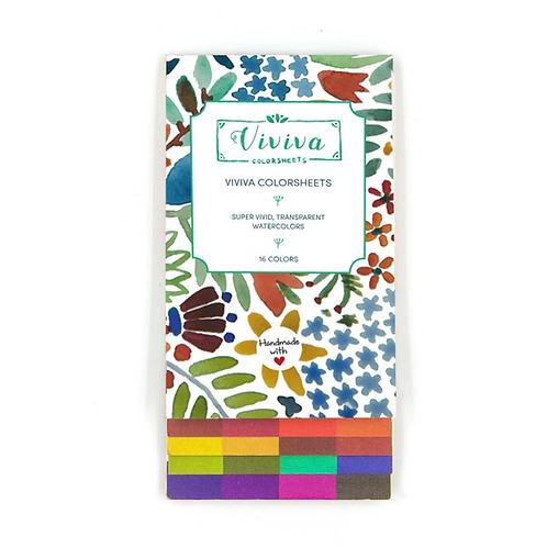Viviva Colour Sheets - Singles Set