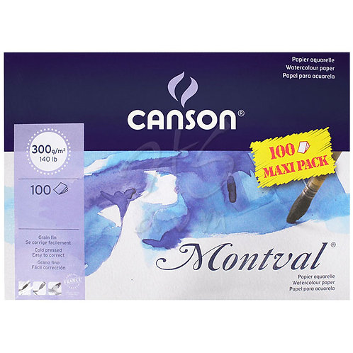 Canson Montval Maxi Pack of 100 - Size A4