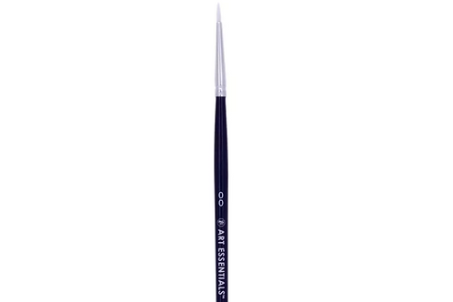 Art Essentials Oyster Synthetic 970 Series Round Brushes Individual Size - 00