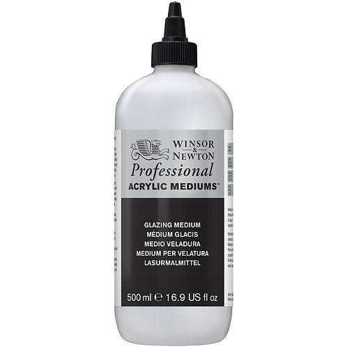 Winsor & Newton Professional Acrylic Glazing Medium - 500ml