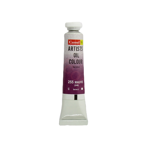 Camlin Kokuyo Artists Oil Colours 20ml - Mauve