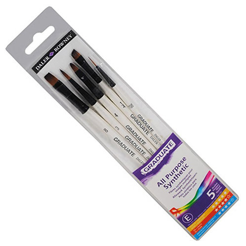 Daler Downey Graduate Synthetic Selection - Pack of 5
