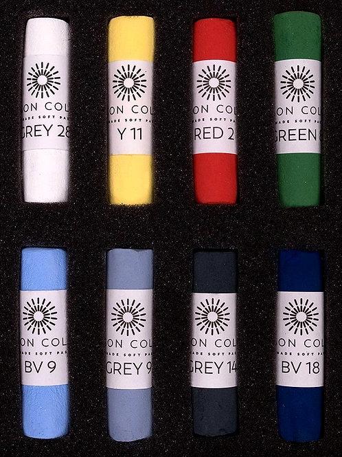 Unison Starter Palette Handcrafted Soft Pastels - Set of 8
