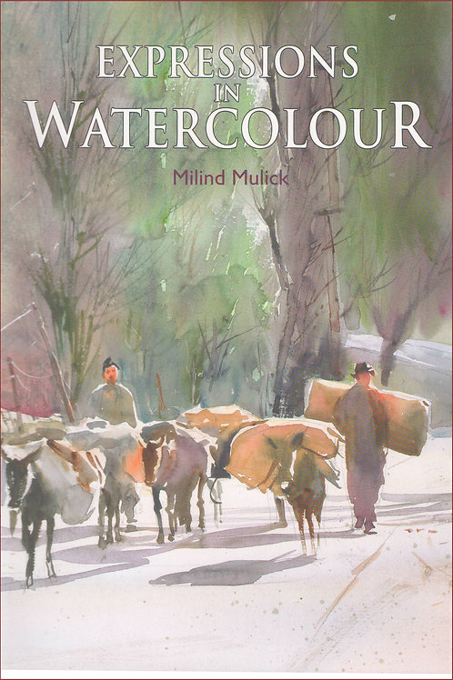 Expressions In Watercolour Book