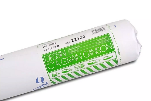 Canson C a' grain 180GSM 1.5 x 1000 cm Fine Grain - Roll