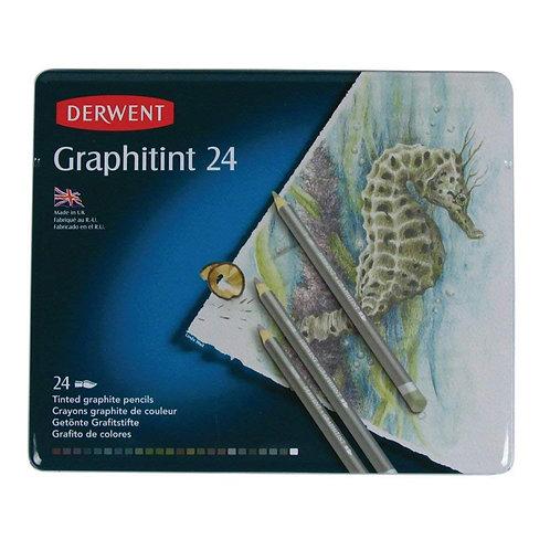 Derwent Graphitint Tin - Set of 24