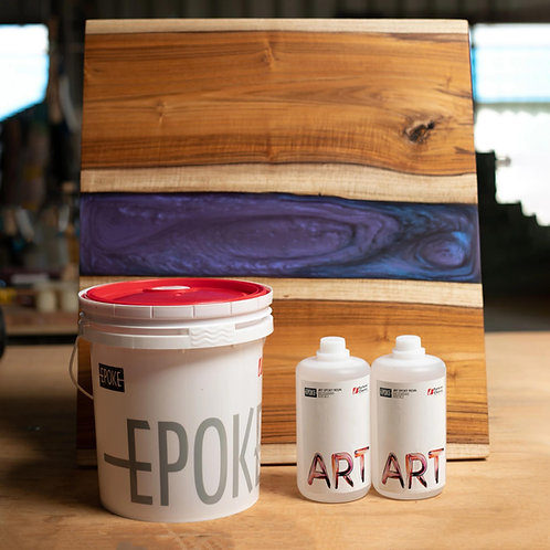Epoke Art Epoxy Resin Handy Pro Kit (Resin + Hardener) - 8kg