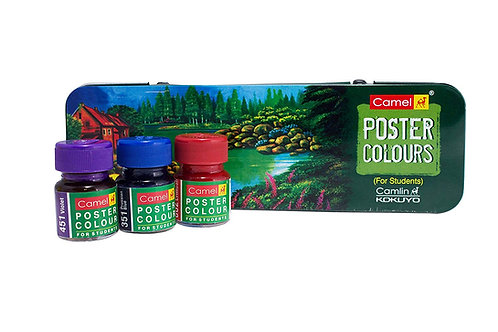 Camel Student Poster Colour - 10ml x 14 Shades