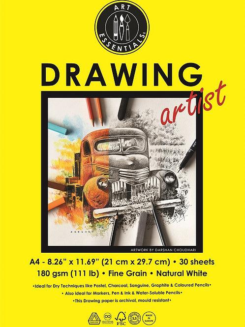 Art Essentials Drawing Artist Polypacks - A4