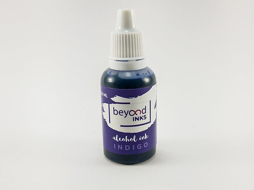 Beyond Inks Individual 20ml Alcohol Inks - Indigo