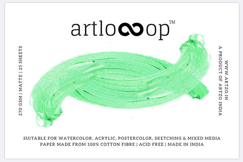 Artloop A5 Mixed Media Pad 270gsm (Matte)
