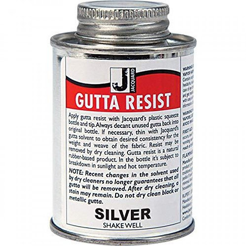 Jacquard Gutta Resist 118ml - Silver