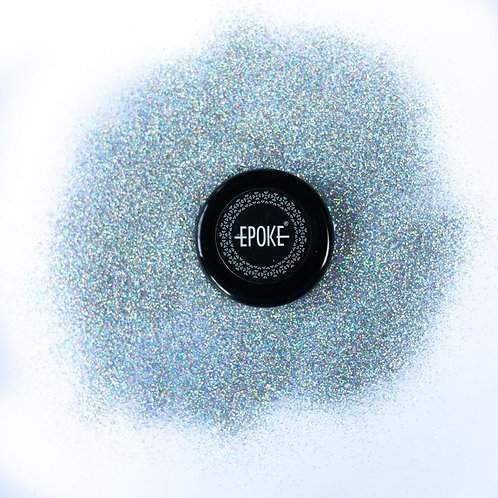 Epoke Silver Holographic Glitter (G3) Fine - 15g