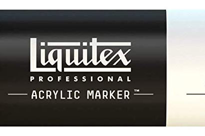 Liquitex 770 Acrylic Paint Marker 15mm Wide - Light Blue Permanent