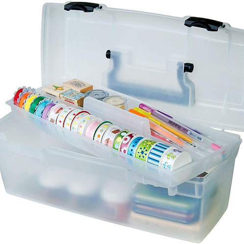 ArtBin Essentials Lift-Out Tray Box