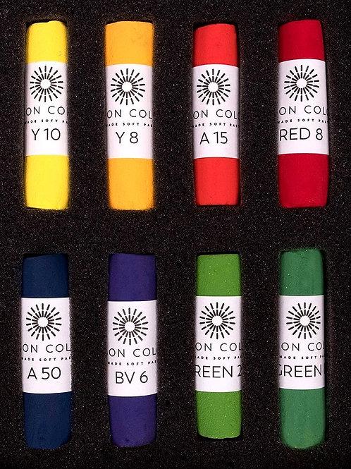 Unison Bright Palette Handcrafted Soft Pastels - Set of 8