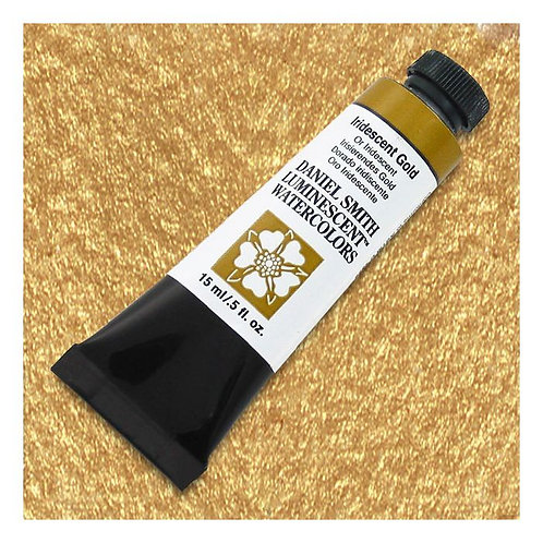 Daniel Smith Watercolour 37ml - Iridescent gold
