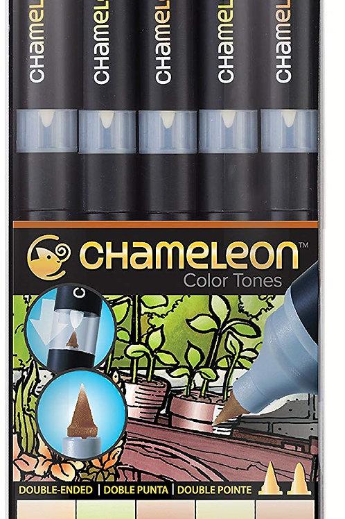 Chameleon 5 Pen Earth Tones Set