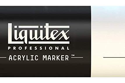 Liquitex 530 Acrylic Paint Marker 15mm Wide - Bronze Yellow