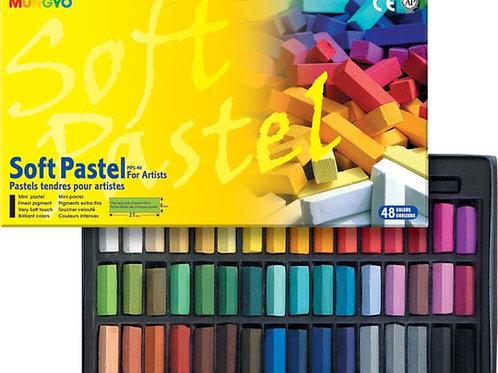 Mungyo Soft Pastel For Artist - 48 Half Length Colours