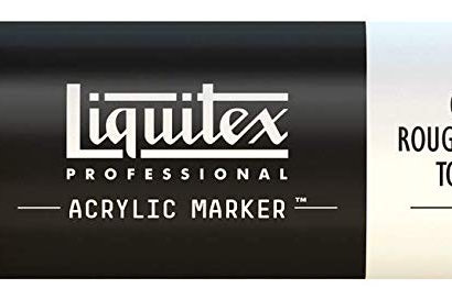 Liquitex 151 Acrylic Paint Marker 15mm Wide - Cadmium Red Medium Hue