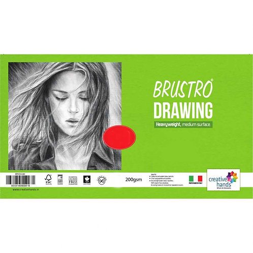 Brustro Drawing Papers Packs - Heavy Weight - 200 GSM
