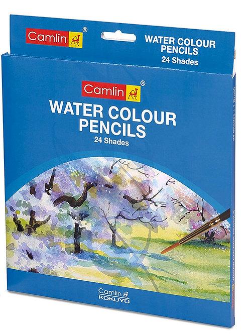 Camlin Kokuyo Water Color Pencil - 24 Shades