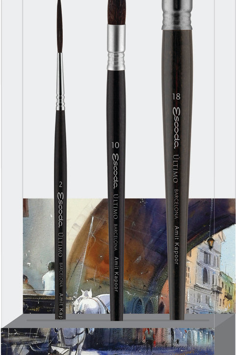 Escoda Signature Collection Brush Set - Amit Kapoor Set