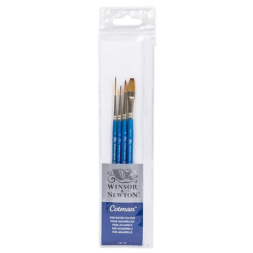 Winsor & Newton Cotman Brush Series 888 Fan - Short Handle