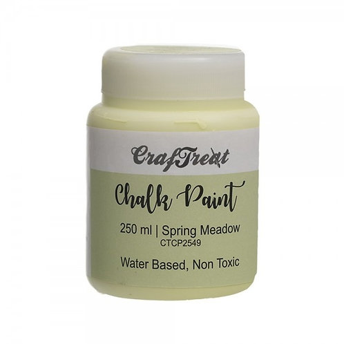 CrafTreat Chalk Paint 250ml - Spring Meadow