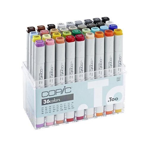 Copic Classic Colour - Set of 36